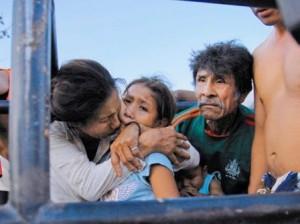 IndigenasRepresionBolivia