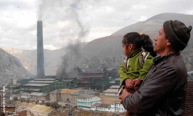 El Estado no garantiza derechos de los afectados por la contaminación en La Oroya, Perú