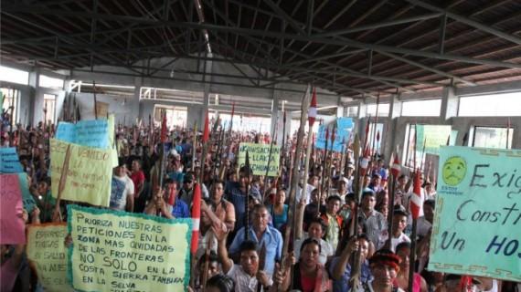 Crónica del conflicto entre indígenas y petrolera en Perú