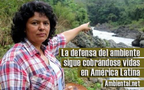 La defensa del ambiente sigue cobrándose vidas en América Latina