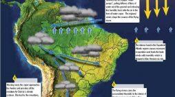 """Los """"Ríos voladores"""" de la Amazonía"""