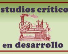 Estudios Críticos en Desarrollo: grupo de estudio