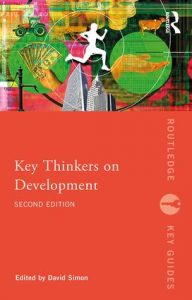 "Foto: libro ""Key Thinkers on Developmeny"""