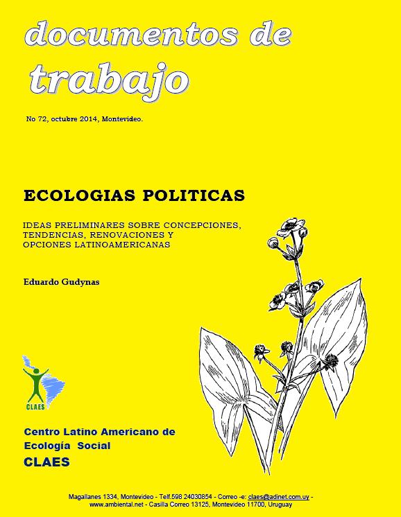 La teoría de la ecología política