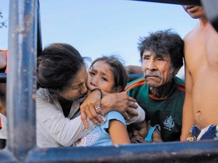 Evo Morales en Bolivia se distancia de pueblos indígenas