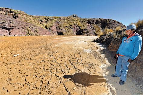 Un lago y 16 ríos contaminados en Bolivia