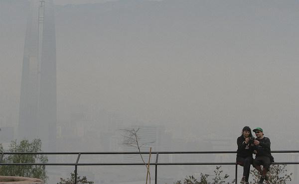 Santiago de Chile se ahoga en la contaminación del aire