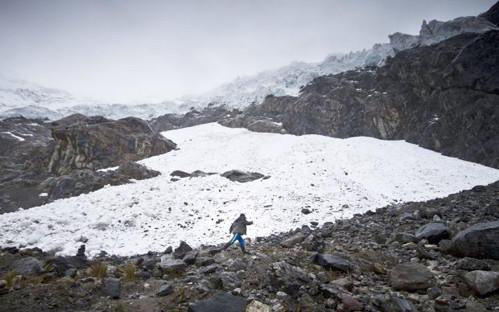 Pérdida de glaciares por cambio climático en Perú